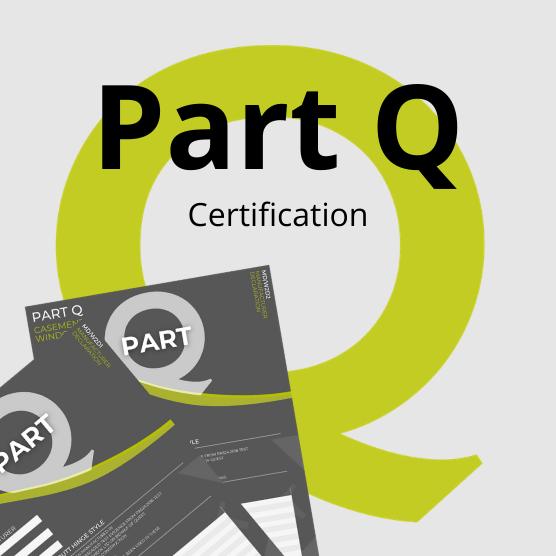 Part Q - Certification PAS24