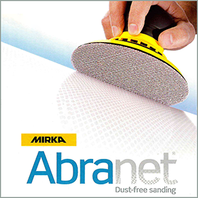 Abranet Dust Free Sanding from Quest Hardware