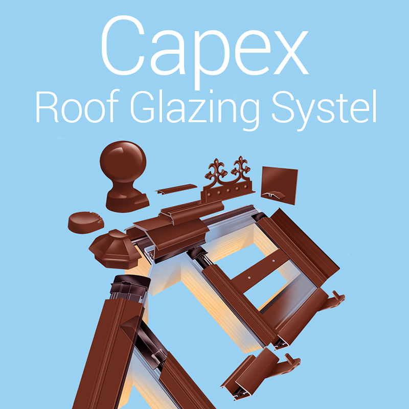 Capex Roof Glazing System from Quest Hardware