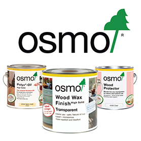 Osmo wood finishes from Quest Hardware