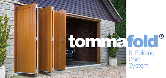 Tommafold Bi Folding Door System from Quest Hardware