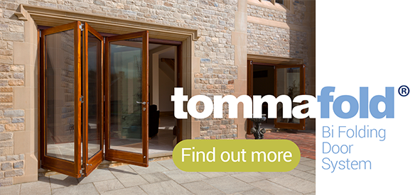 Tommafold Bi Folding Door Systems from Quest Hardware
