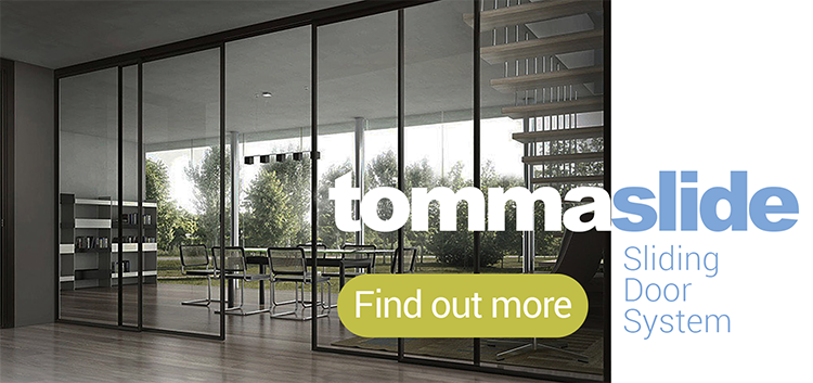 Tommaslide Sliding Door System from Quest Hardware