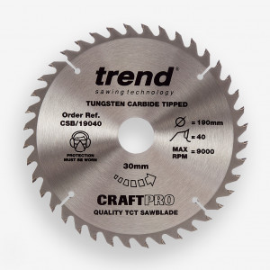 Alternate Bevel Saw Blades TCT