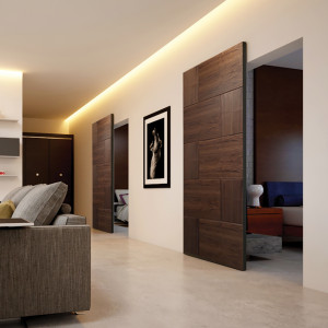 Invisible Sliding Door System