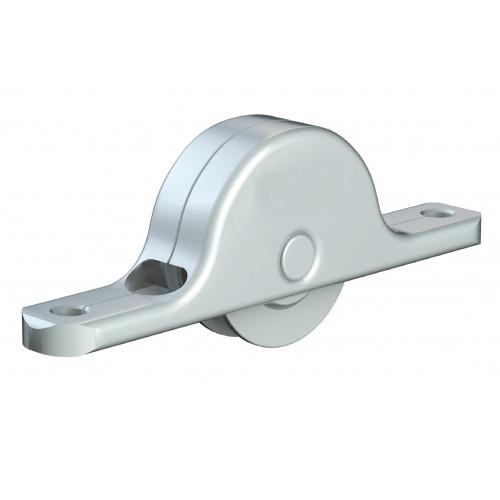 Series Mini Delrin Wheel Bottom Guide Roller 18mm Diameter 25kg Capacity