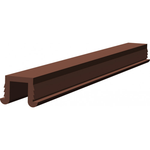 Series Mini 3m Brown Top Track PVC Guide Channel