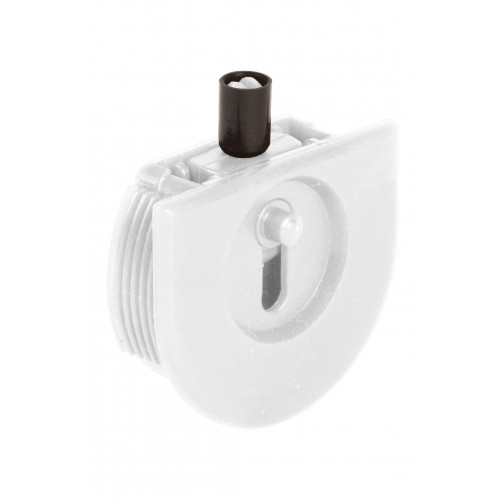 Series Mini White Top Track Guide Roller