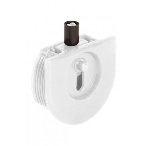 Series Mini White Top Track Guide Roller
