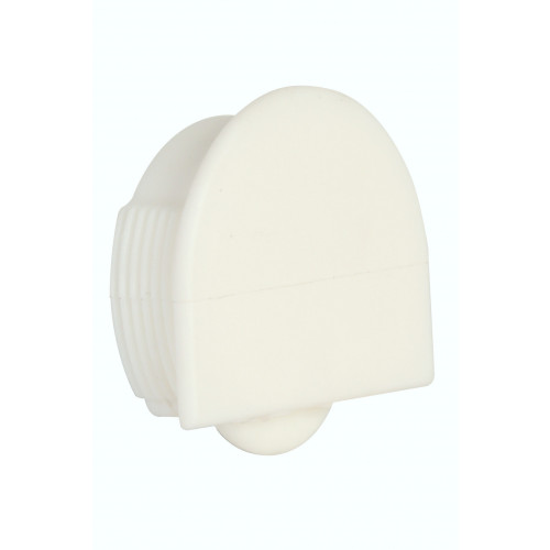 Series Mini White Bottom Guide Roller 25kg Capacity
