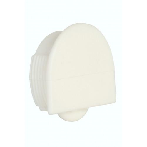 Series Mini White Bottom Guide Roller 25kg Capacity