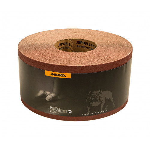 Mirka 1380 x 2620mm P100 Jepuflex Antistatic Abrasive Belt, 10/pk