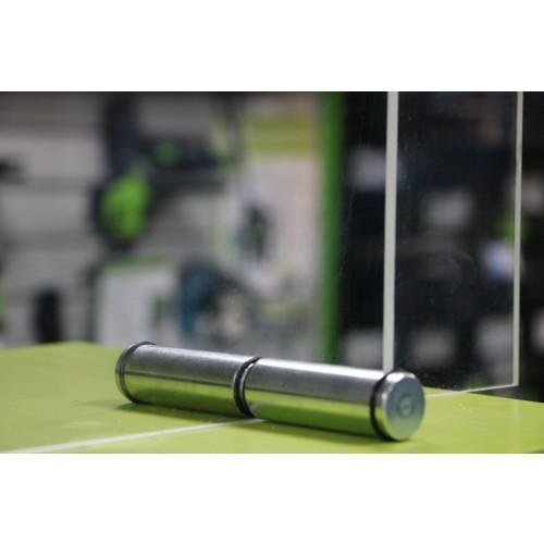 Screen support foot 150mm (75/75) BZP