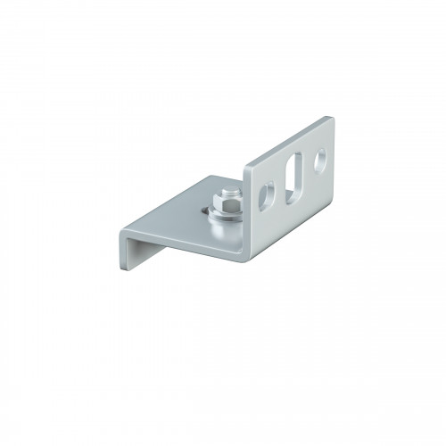 Series 20 Face Fixing Track Support Bracket For Galvanized Steel Top Track