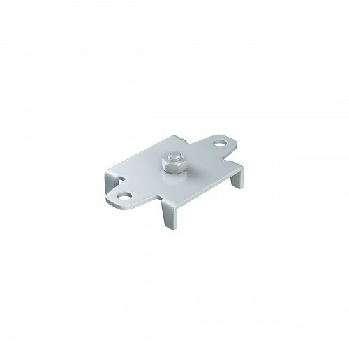 Series 20 Soffit Fixing Track Support Bracket For Galvanized Steel Top Track