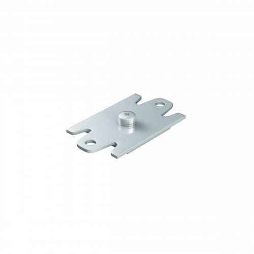 Series 20 Soffit Fixing Track Support Bracket For Aluminium Top Track