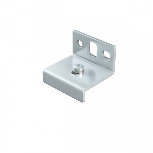 Series 20 Face Fixing Track Support Bracket For Aluminium Top Track