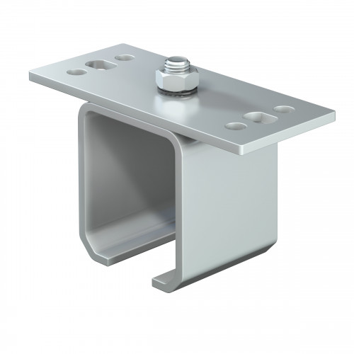 Series 250 Soffit Fixing Track Support Bracket For Galvanized Steel Top Track
