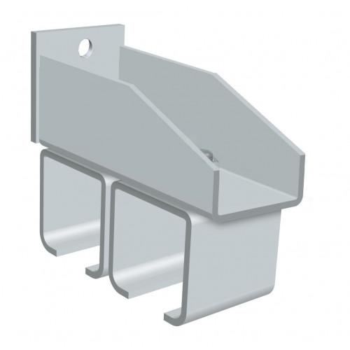 Series 250 Twin Steel Track Support Bracket