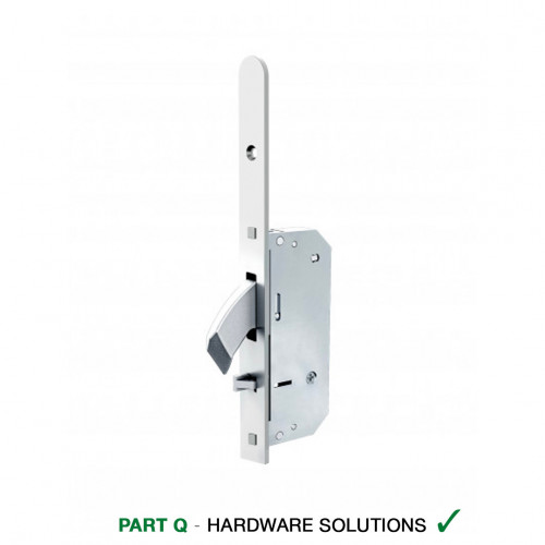 Reliance D50 Heritage Style, Hooklock, Autolocking Multipoint Lock, LH, 45mm Backset, 20mm Radius End Faceplate