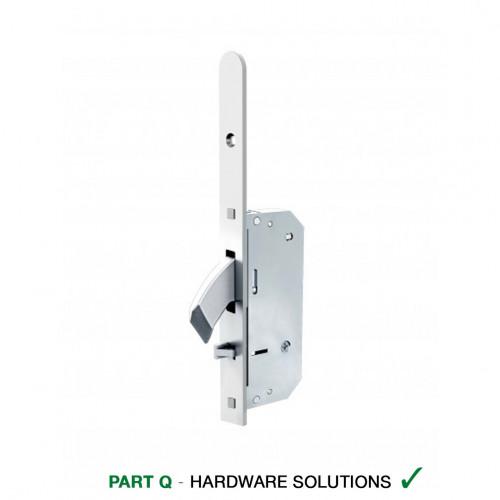 Reliance D50 Heritage Style, Hooklock, Autolocking Multipoint Lock, LH, 45mm Backset, 20mm Radius End Faceplate