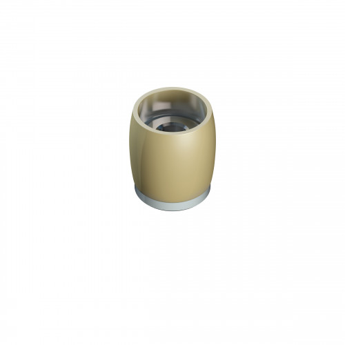 Series 50 20mm Diameter Brass Bottom Guide Roller