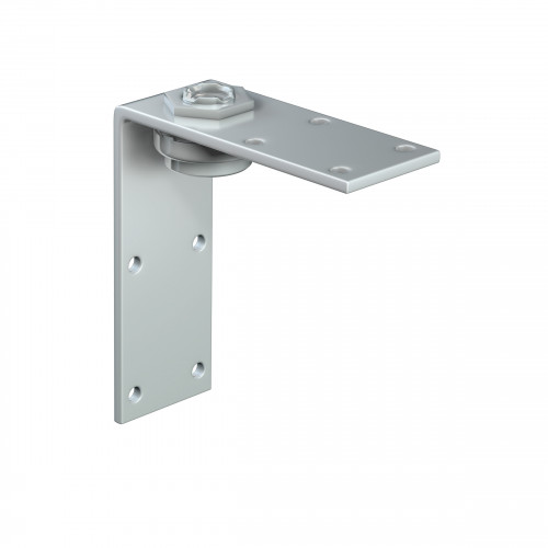 Series 50 Angled Rotating Steel Suspension Plate, M12 Thread