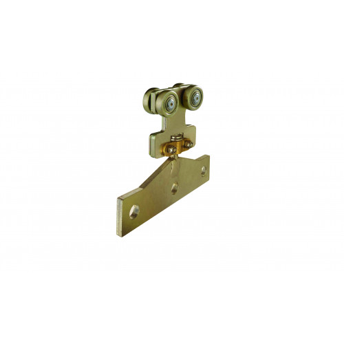 Multirail Four Wheel Hanger With Friction Rotating Plate 150kg