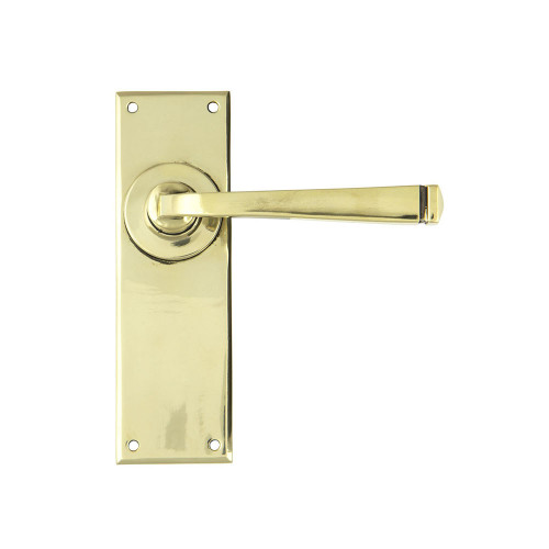 Aged Brass Avon Lever Latch Set