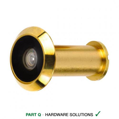 Door Viewer 180° Brass