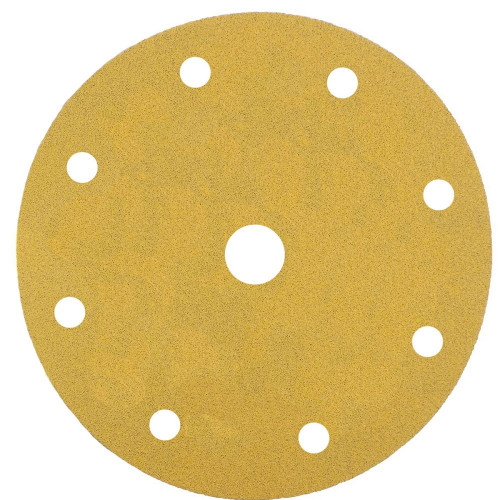Abrasive Grip Disc Mirka Gold 150mm 9 Hole 150 Grit