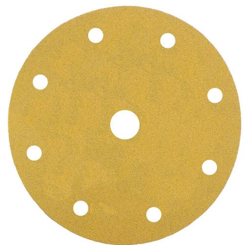 Abrasive Grip Disc Mirka Gold 150mm 9 Hole 150 Grit