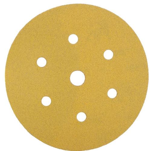Abrasive Grip Disc Mirka Gold 150mm 7 Hole 80 Grit