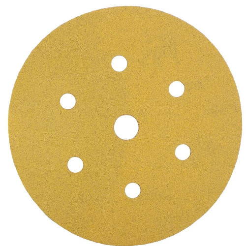 Abrasive Grip Disc Mirka Gold 150mm 7 Hole 80 Grit