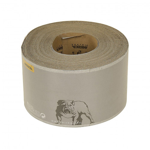 Abrasive Paper Roll Mirka Carat Stearated 115mm × 50m 80 Grit