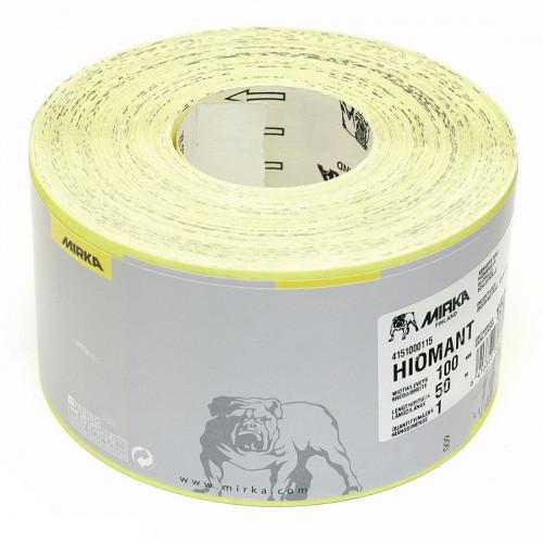 Abrasive Paper Roll Mirka Hiomant 115mm × 50m 100 Grit