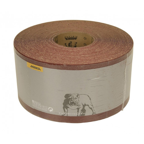 Abrasive Paper Roll Aluminium Oxide 115mm × 50m 60 Grit