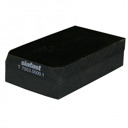 Hand Sanding Block - Rubber Hard/Medium 70 X 125mm