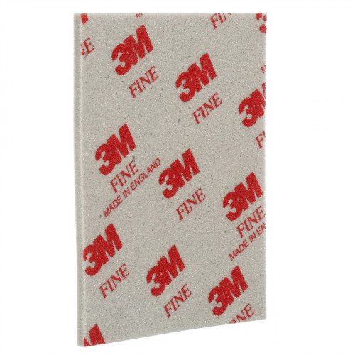 Abrasive 3M Foam Double Sided Sanding Sponge 115 X 140 X 5mm Fine Grit 20pk