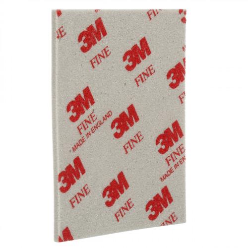 Abrasive 3M Foam Double Sided Sanding Sponge 115 X 140 X 5mm Fine Grit 20pk