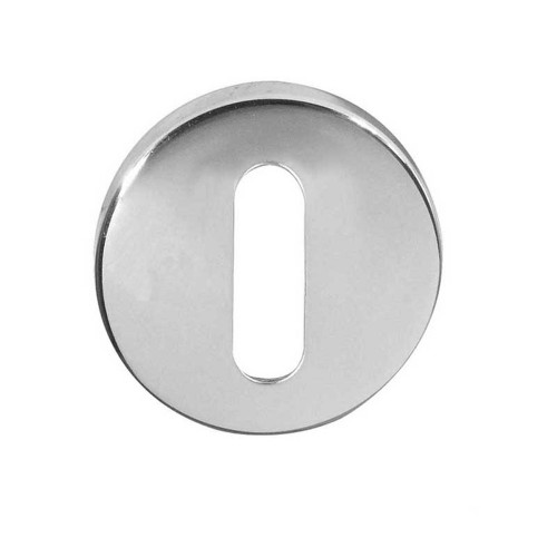 Escutcheon For Mortice Key 50mm Diameter Satin Stainless Steel