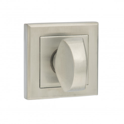 Designer Bathroom Turn & Release On 50 x 50mm Square Rose Satin Chrome