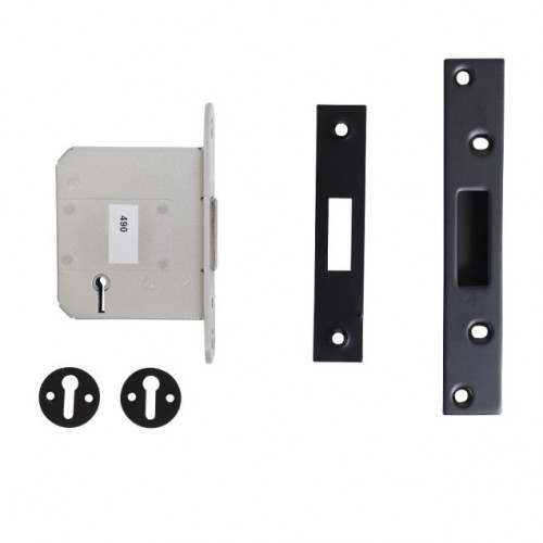 Kirkpatrick 7000 64mm 5 Lever BS Deadlock Black