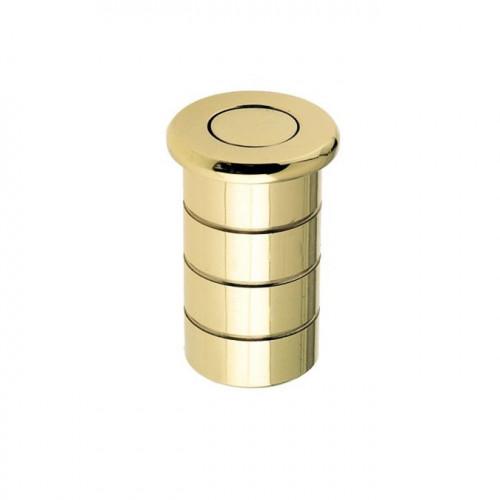 Floor Bolt Socket Dust Excluding Type Polished Brass