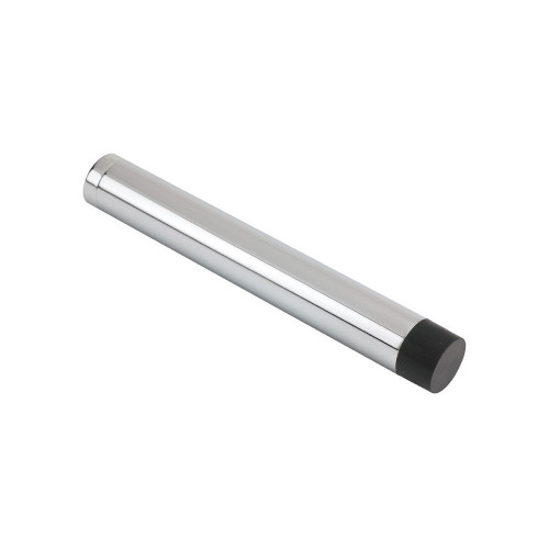 Door Stop Cylindrical 102mm Polished Chrome