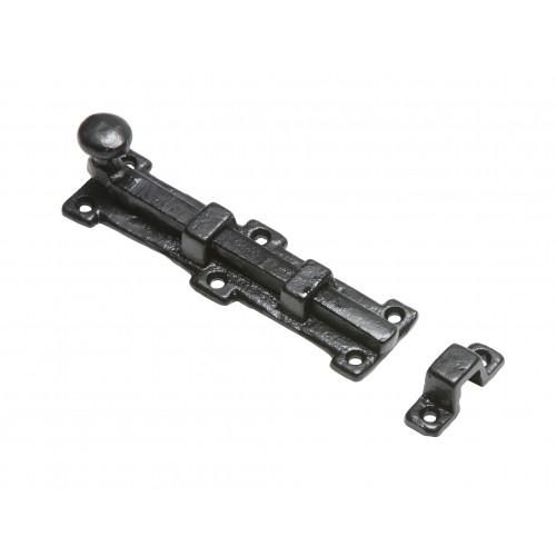 Kirkpatrick 1155 Straight Bolt Black Antique 152mm