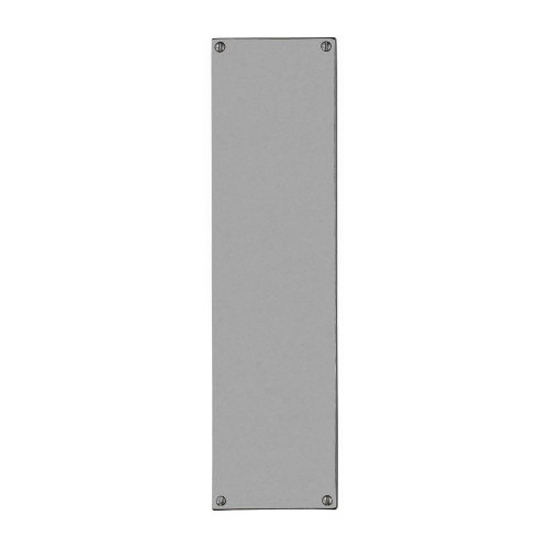 Finger Push Plate 300 × 75mm Polished Stainless Steel