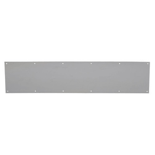 Kick Plate 750 × 150mm Satin Stainless Steel