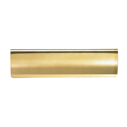 Letter Tidy Internal Curved 280 × 76mm Polished Brass