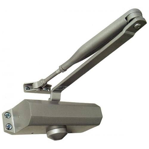 Door Closer Overhead Surface Mounted Silver
